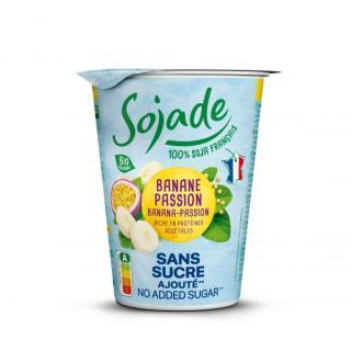 Sojade Banane-Maracuja ohne Zucker