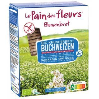 Blumenbrot Buchweizen ohne Salz /glf