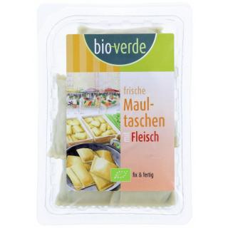 bio-verde Frische Maultaschen mit Fleischfüllung,