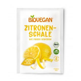 BIO VEGAN Zitronenschale (gerieben)
