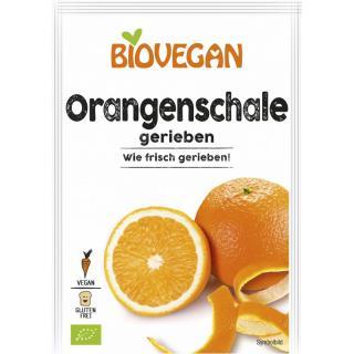 BIO VEGAN Orangenschale (gerieben)