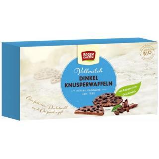 Dinkel Knusperwaffeln Vollmilch-Cappuccino