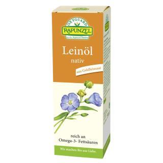 Rapunzel Leinöl nativ, 250 ml Flasche