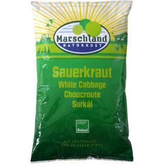 Marschland Sauerkraut, 500 gr Beutel