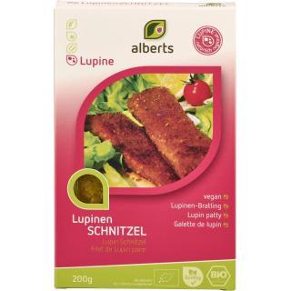Lupinen Schnitzel `Mailänder Art`