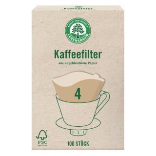 4er Kaffeefilter ungebleicht