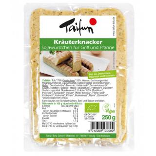 Tofu-Kräuterknacker
