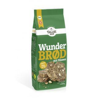 Brotbackmischung Wunderbrot mit Nüssen glutenfrei