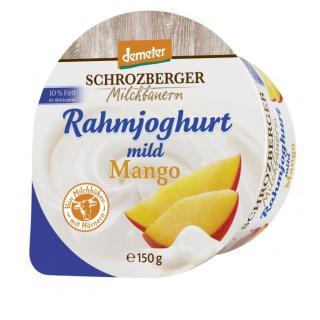 Rahmjogurt Mango DEMETER - Becher