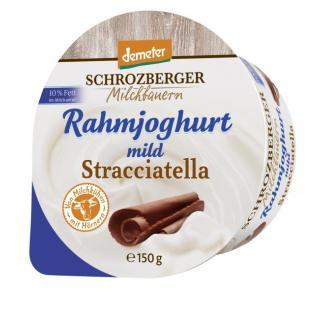 Rahmjogurt Stracciatella DEMETER - Becher