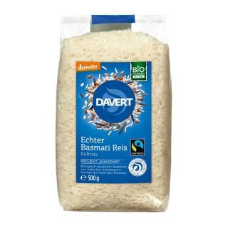 echter Basmati-Reis weiss