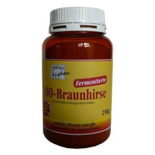 Braunhirse fermentiert