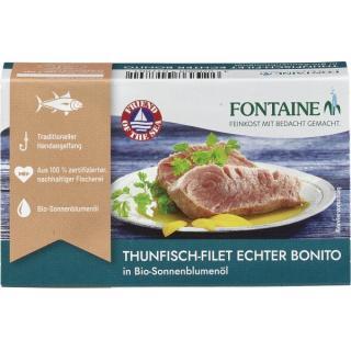 Thunfisch - echter Bonito in Sonnenblumenöl