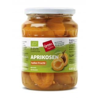 Aprikosen entsteint - Glas