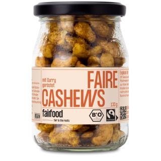 Käpt´n Curry - Cashews geröstet & indisch gewürzt