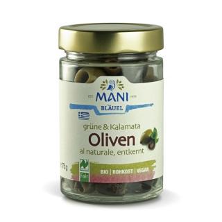 Oliven gemischt ohne Stein